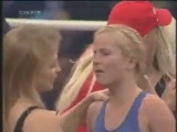 Boxing Doro Pesch (Heavy Metal QUEEN) vs Michaela Schaffrath (Gin...